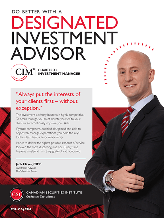 Jack Mayer, CIM®: Investment Advisor