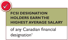 FCSI Designation Holders Earn the Highest Average Salary