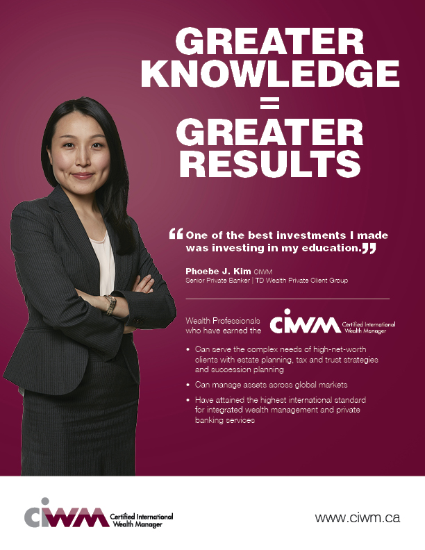 Phoebe Kim, CIWM: Senior Private Banker|TD Wealth Private Client Group